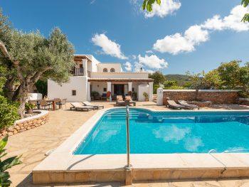 Ibiza-love Finca Padel Pool Area